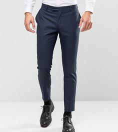 Зауженные брюки под смокинг Jack & Jones Premium - Темно-синий