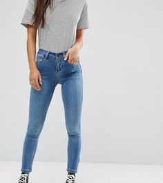 Супероблегающие джинсы для миниатюрных New Look Petite - Синий