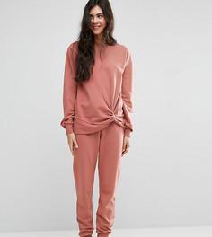 Трикотажные спортивные брюки ASOS TALL LOUNGE - Оранжевый