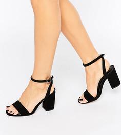 Босоножки на каблуке ASOS HOSTESS - Черный