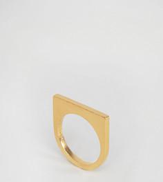 Позолоченное кольцо Pieces & Julie Sandlau Janu - Золотой