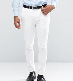 Суперузкие брюки из хлопкового сатина Only & Sons - Белый