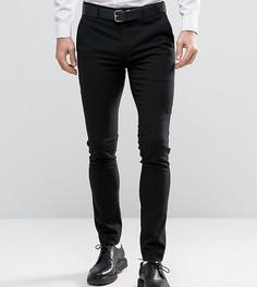 Супероблегающие строгие брюки Only & Sons - Черный