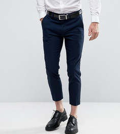 Укороченные брюки скинни Only & Sons - Темно-синий