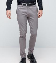 Супероблегающие строгие брюки Only & Sons - Серый