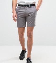 Строгие шорты скинни Only & Sons - Серый