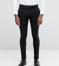 Супероблегающие брюки под смокинг Only & Sons - Черный