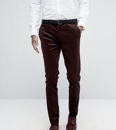Вельветовые супероблегающие брюки Only & Sons - Красный