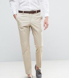 Узкие брюки из эластичного хлопка Selected Homme - Светло-серый