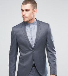 Пиджак узкого кроя в крапинку Selected Homme - Синий