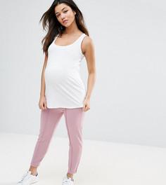 Джоггеры-сигареты ASOS Maternity - Розовый