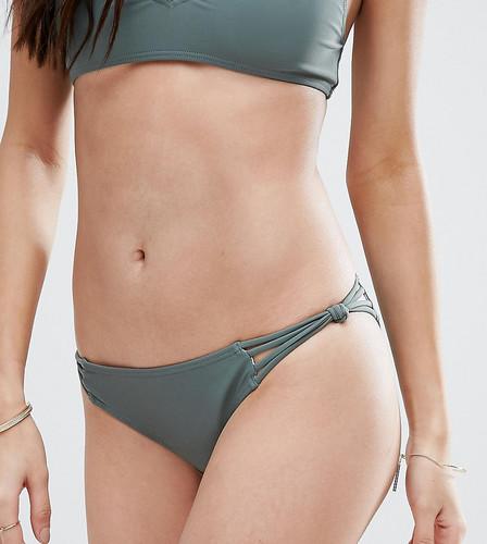 Плавки бикини цвета хаки с лямками South Beach - Зеленый