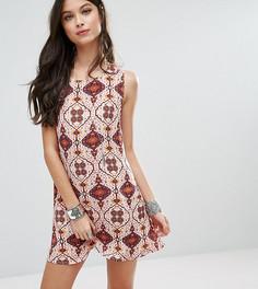 Платье с принтом Glamorous Petite - Мульти