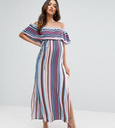 Платье макси в полоску ASOS Maternity - Мульти