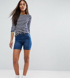 Джинсовые шорты Vero Moda Tall - Синий