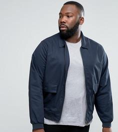 Хлопковая куртка Харрингтон D-Struct PLUS - Темно-синий