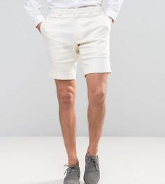 Льняные шорты скинни Noak - Белый