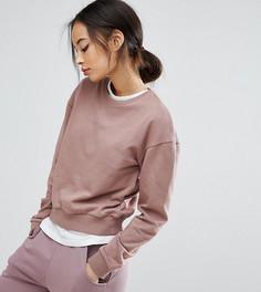 Укороченный оверсайз-свитшот ASOS TALL - Розовый