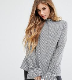 Блузка с рукавами клеш Reclaimed Vintage Inspired - Черный
