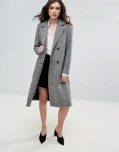 Длинное пальто Vero Moda - Серый