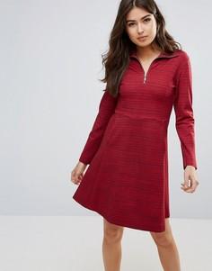 Платье на молнии Wood Wood Janet - Красный