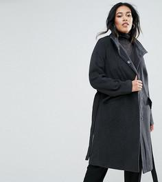 Оверсайз-пальто Junarose - Серый