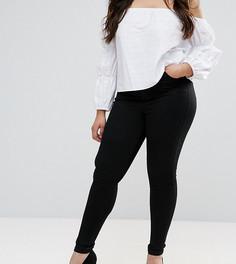 Черные джинсы-премиум ASOS CURVE SCULPT ME - Черный