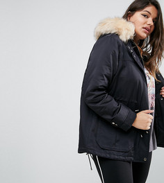 Парка ASOS CURVE Ultimate - Черный