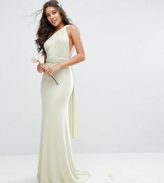 Платье-трансформер длины макси TFNC WEDDING - Зеленый