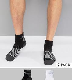 Набор из 2 пар носков Nike Running SX5198-900 - Черный
