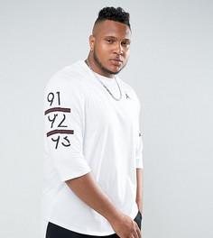 Белая футболка с рукавами реглан Nike Jordan PLUS 6 Times 862423-100 - Белый