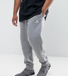Серые флисовые джоггеры Nike Jordan PLUS 823071-091 - Серый
