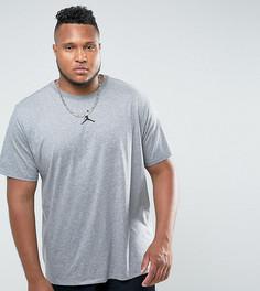 Серая футболка Nike Jordan PLUS Future 862417-091 - Серый
