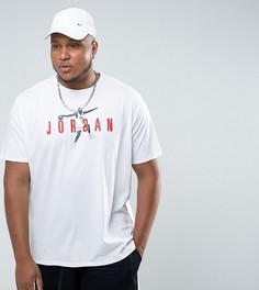 Белая футболка Nike Jordan PLUS Modern 2 908436-101 - Белый