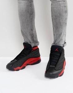 Черные кроссовки в стиле ретро Nike Air Jordan 13 414571-004 - Черный