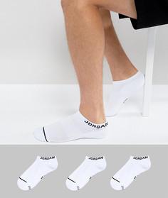 Набор из 3 пар белых спортивных носков Nike Jordan SX5546-100 - Белый