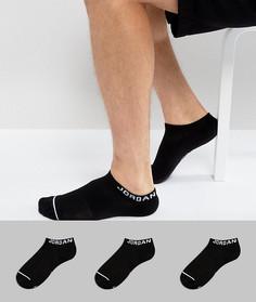3 пары черных спортивных носков Nike Jordan SX5546-010 - Черный