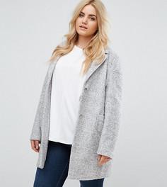 Пальто-кокон ASOS CURVE - Серый