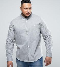 Рубашка из шамбре Another Influence PLUS - Серый