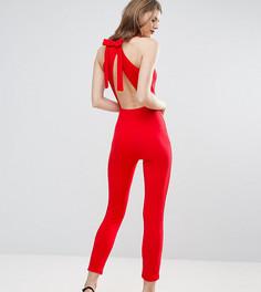Комбинезон с бантом на спине Oh My Love Tall - Красный