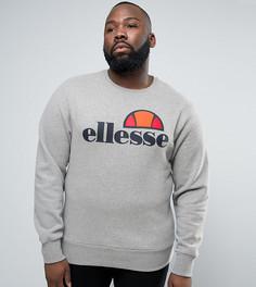 Свитшот с классическим логотипом Ellesse PLUS - Серый