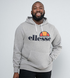 Худи с классическим логотипом Ellesse PLUS - Серый
