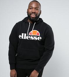 Худи с классическим логотипом Ellesse PLUS - Черный