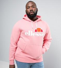 Худи с классическим логотипом Ellesse PLUS - Розовый