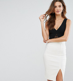 Соблазнительное контрастное платье-футляр Vesper - Мульти