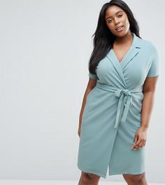 Платье с запахом Koko Plus - Синий
