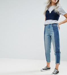 Прямые джинсы со вставками Urban Bliss Petite - Мульти
