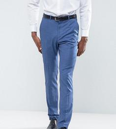 Синие облегающие брюки ASOS TALL Wedding - Синий