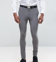 Серый супероблегающий костюм ASOS TALL - Серый