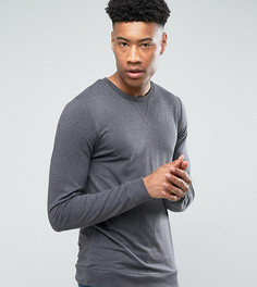 Легкий обтягивающий свитшот ASOS TALL - Серый